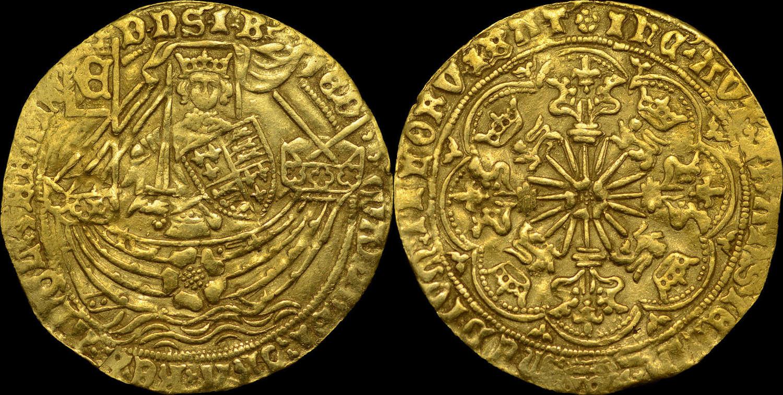 EDWARD IV, FIRST REIGN GOLD RYAL