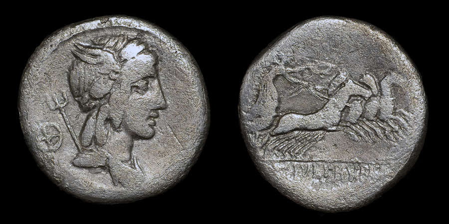 ROMAN REPUBLICAN COINAGE, L. JULIUS BURSIO SILVER DENARIUS