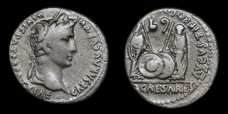 AUGUSTUS SILVER DENARIUS