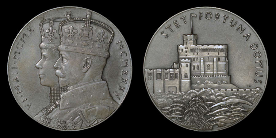 GEORGE V SILVER JUBLEE, 1935 LARGE SIZE SILVER MEDAL