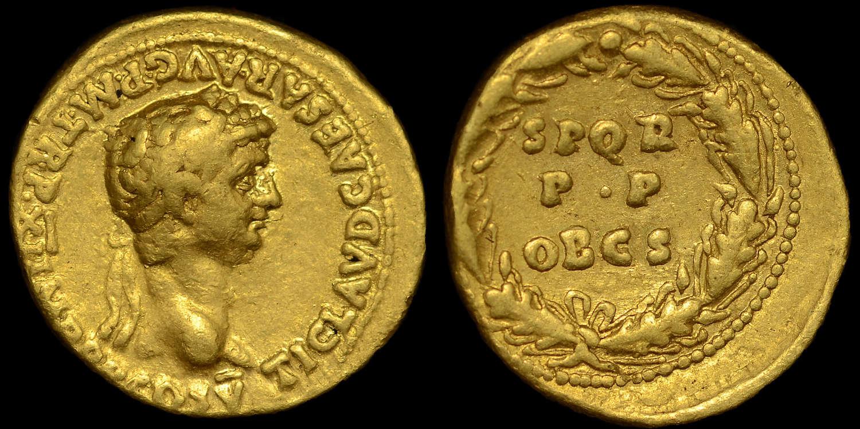 CLAUDIUS GOLD AUREUS