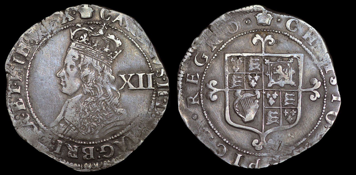 CHARLES II, HAMMERED ISSUE SHILLING