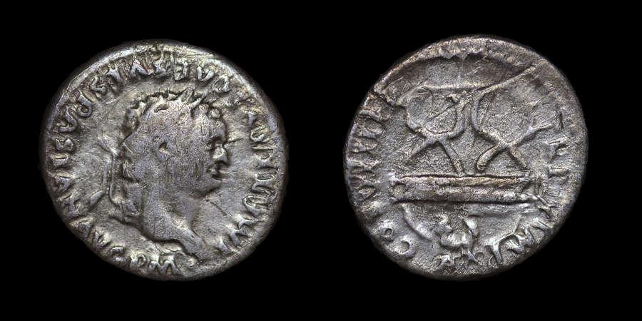 TITUS SILVER DENARIUS