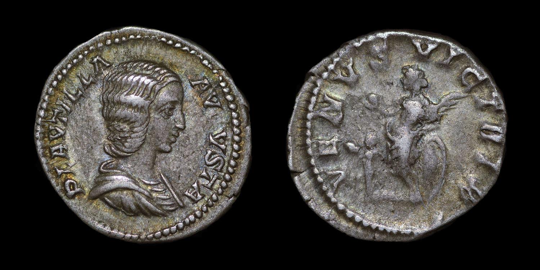 PLAUTILLA, WIFE OF CARACALLA, DENARIUS