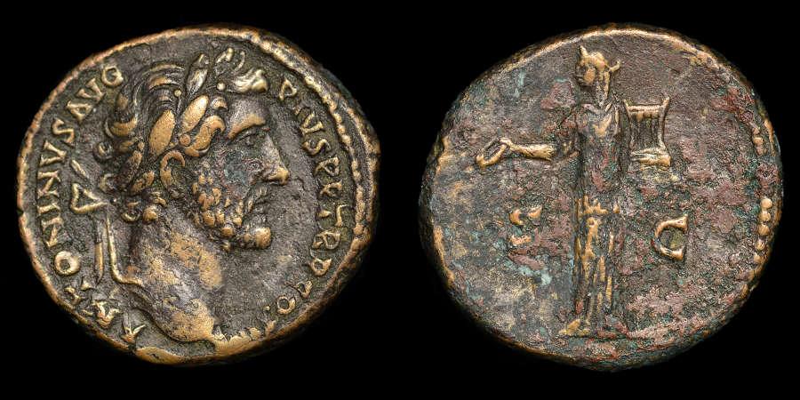 ANTONINUS PIUS, AS