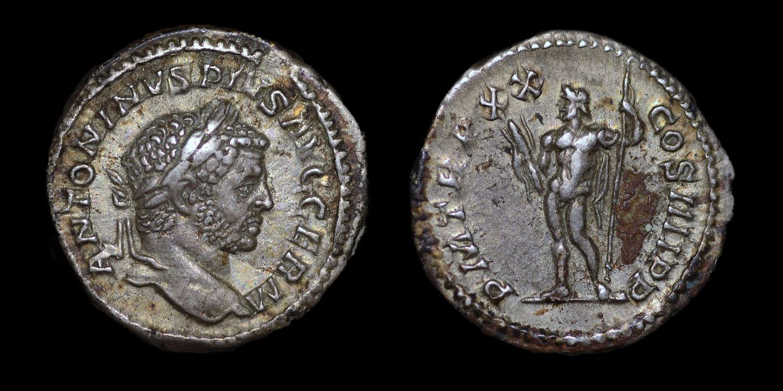 CARACALLA, DENARIUS