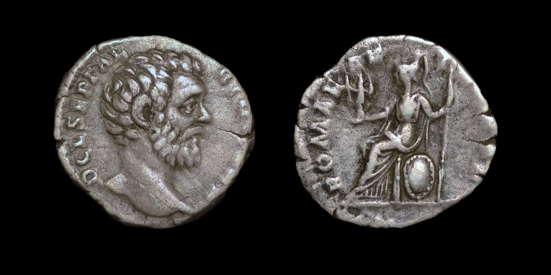 CLODIUS ALBINUS, DENARIUS