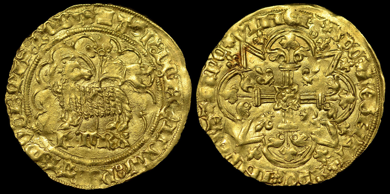 FRANCE, CHARLES VI (1380-1422) GOLD AGNEL d'or