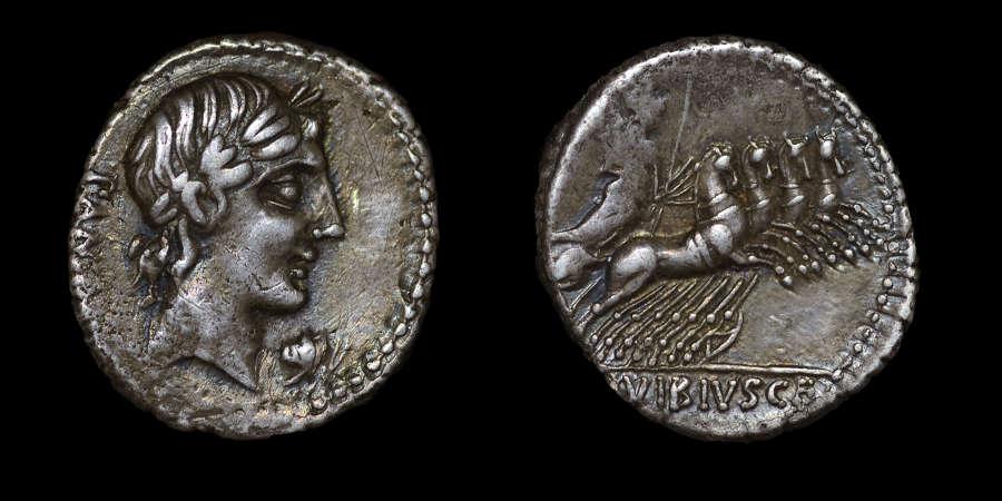 ROMAN REPUBLICAN COINAGE, C. VIBIUS CF. PANSA, DENARIUS