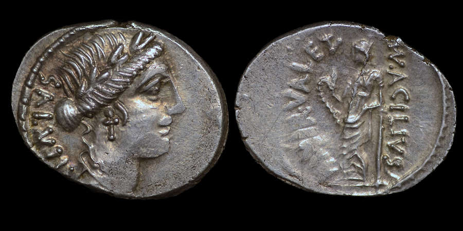 ROMAN REPUBLICAN COINAGE, MN ACILIUS GLABRIO, DENARIUS