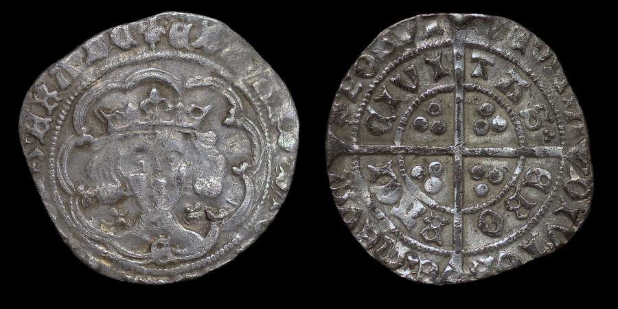 EDWARD IV GROAT OF YORK