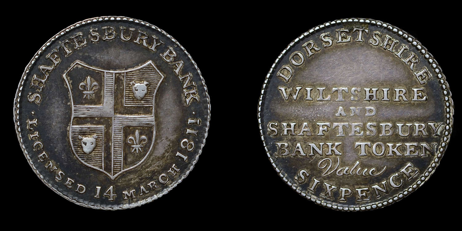 1811 DORSET SHAFTSBURY BANK TOKEN