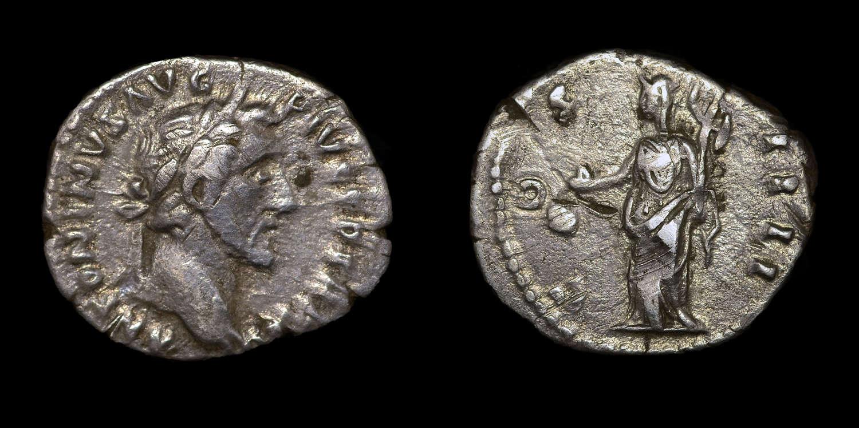 ANTONINIUS PIUS DENARIUS
