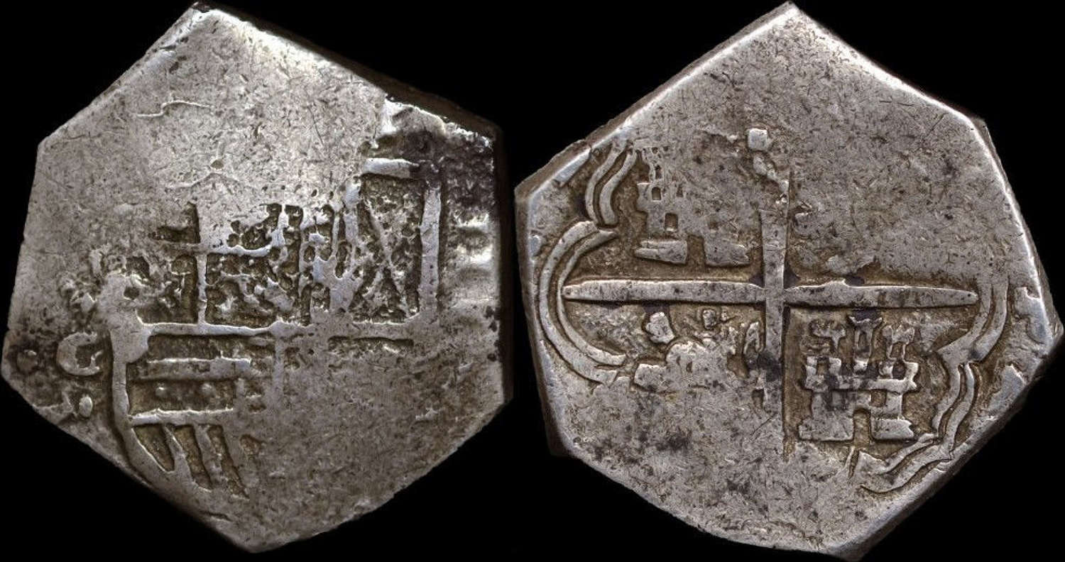 SPAIN, PHILIP IV 4 REALES