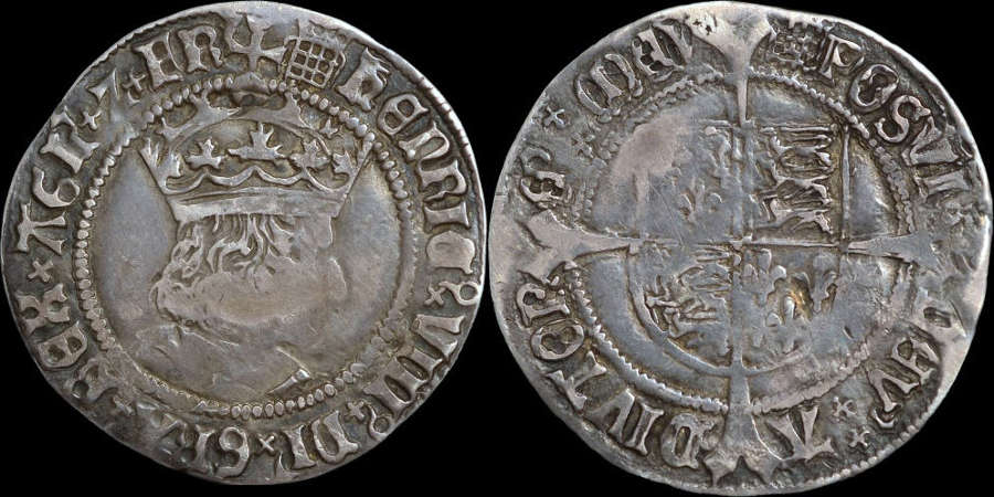 HENRY VIII FIRST COINAGE GROAT
