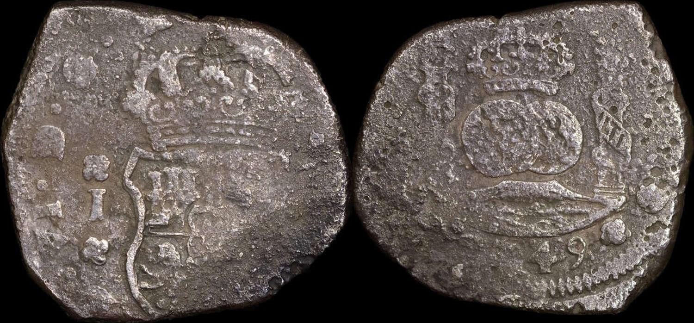 SPAIN, FERDINAND VI 8 REALES 1749 GUATEMALA MINT