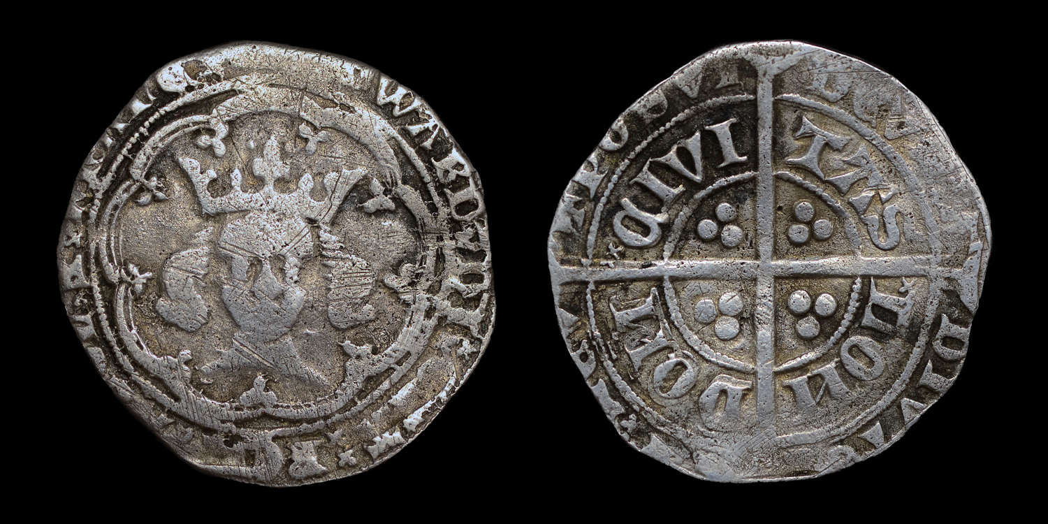 EDWARD III, POST TREATY PERIOD GROAT