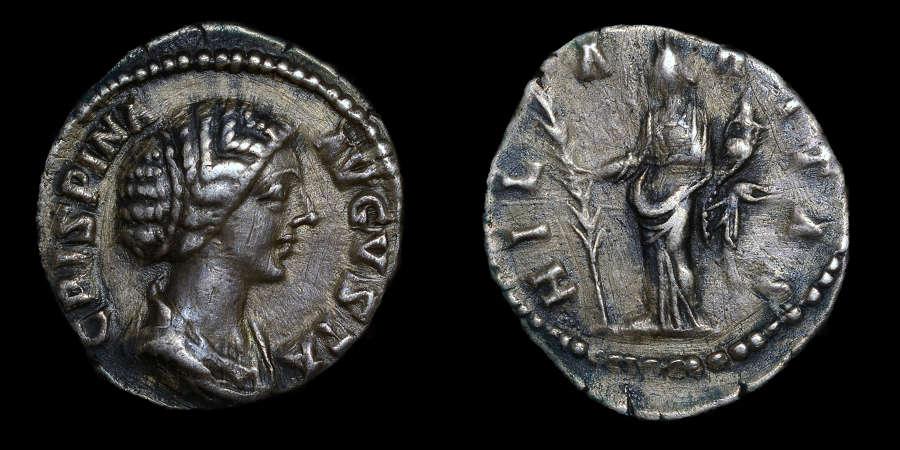 CRISPINA, WIFE OF COMMODUS, DENARIUS