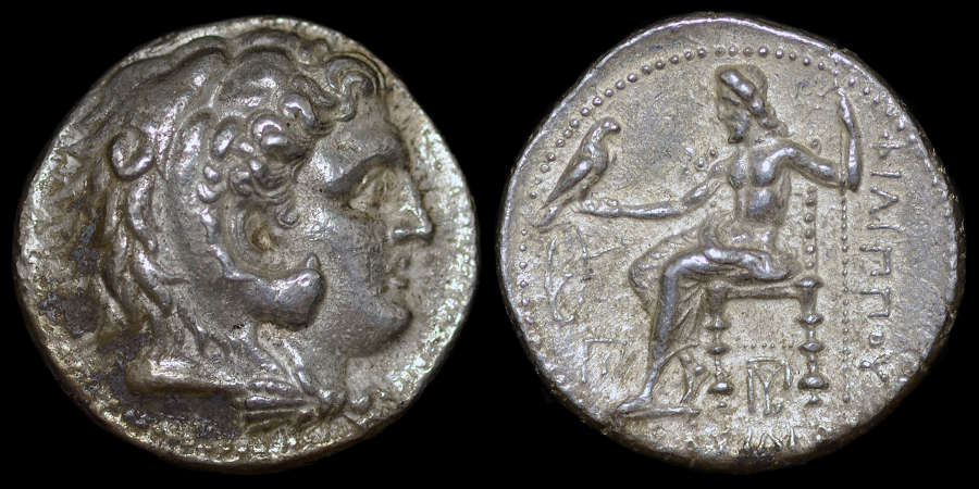 PHILIP III SILVER TETRADRACHM