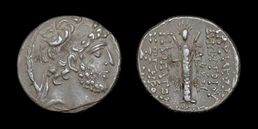 SELEUKID KINGDOM, DEMETRIOS III SILVER TETRADRACHM